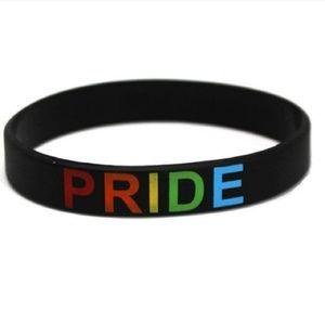 Jewelry - Rainbow Pride Bracelet Black unisex